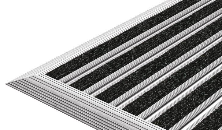 Fremragende Top Clean FLAT dørmåtte · kompakt og ultratynd til fri udlægning WS51
