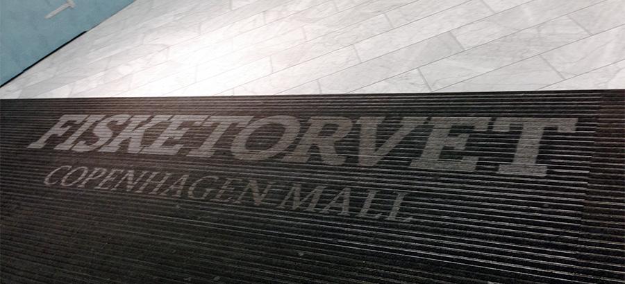 Logo i måtten